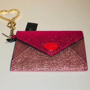 Accessories - Victoria's Secret envelope cardholderkeycharm